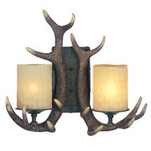 Rustic Wall Sconces. Wrought Iron Bamboo And Wooden Rustic Wall ...